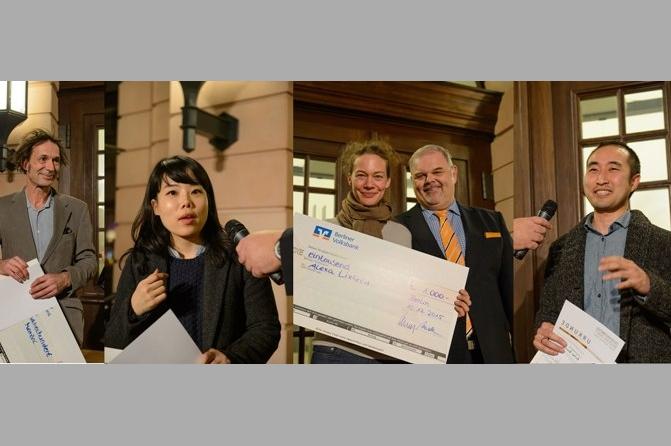 Preisträger 2015, Foto. Berliner Volksbank, Peter Adamik