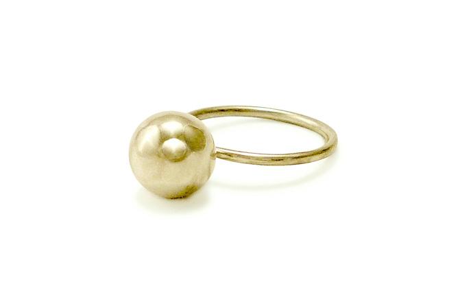 Ball-Ring, Silber, Foto: Anja Hartwigsen