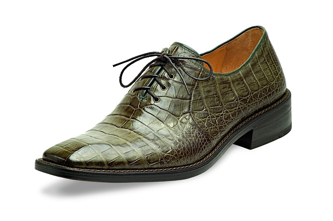 Herrenschuh, Alligator-Leder, Foto: Jacob. F. Schuhe