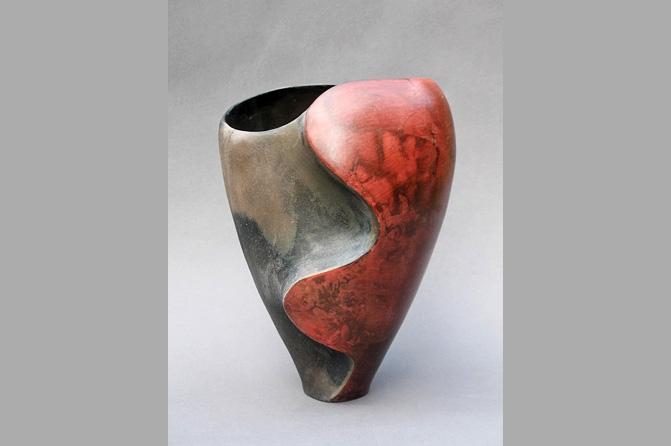 Vase, Ying und Yang
