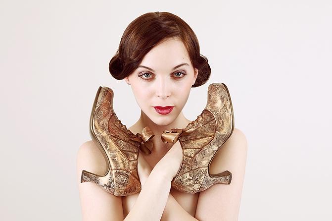 Schuhe Arabesque, Foto: Jürgen Angelow
