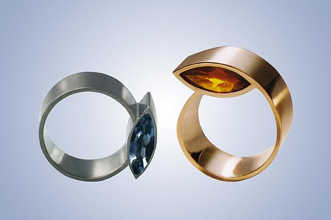 Ringe 750 Gold, Foto: Beate Brinkmann