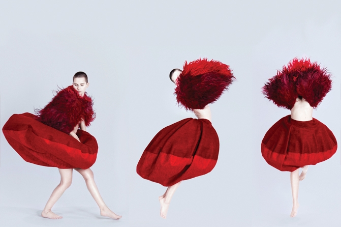 "aus der serie ""circlewear"" – one circle Foto: Marlene Rahmann"