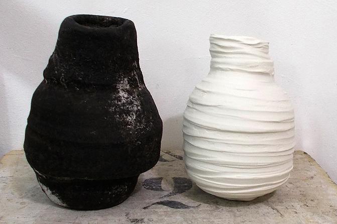 Zwei dicke Gefäße, Foto: Regina Müller-Huschke
