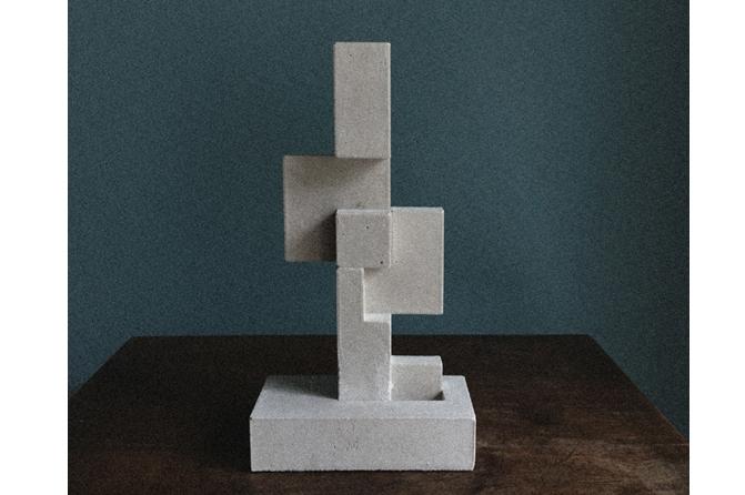 Totem No.1! Material: Fine cast concrete